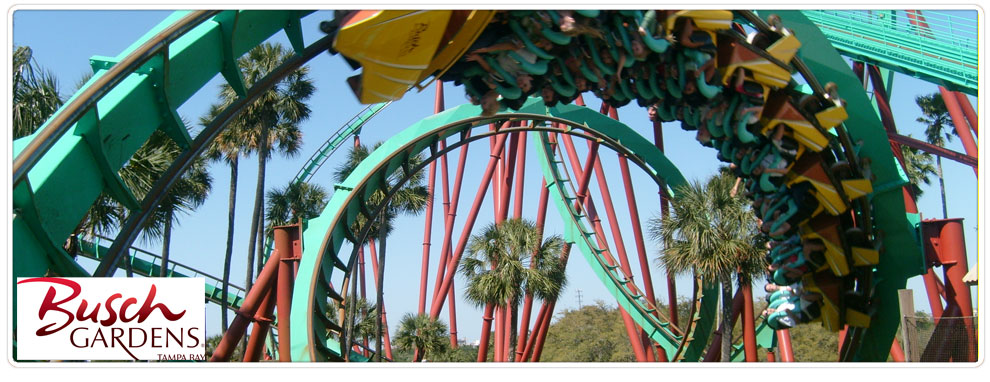 Busch Gardens Orlando Group Tickets